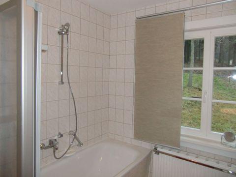 Fewo Lotte Badezimmer - Ferienwohnung Altenberg
