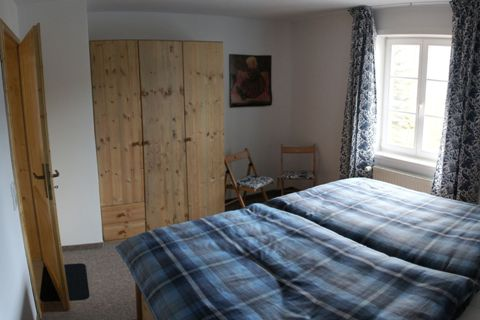 Fewo Lotte Schlafzimmer - Ferienwohnung Altenberg