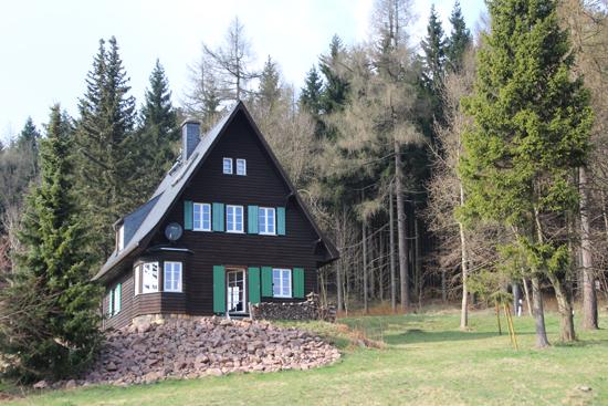 Ferienhaus-Rehefeld im Sommer
